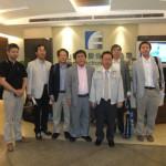 Eastern Electronics(泰山電子)で記念写真