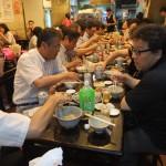 TCA吉村さんと昨年とおなじ牛肉麺の店で交流会