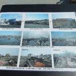 震災時の写真展示