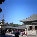 仏国寺の境内